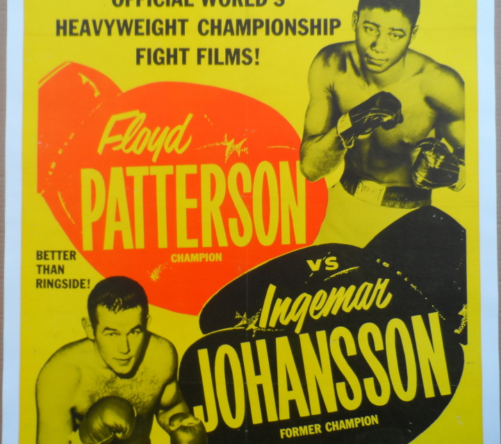 1961 floyd patterson v ingemar johansson iii fight films